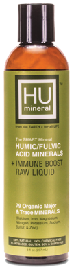 HUMIC/FULVIC ACID MINERAL + IMMUNE BOOST RAW LIQUID