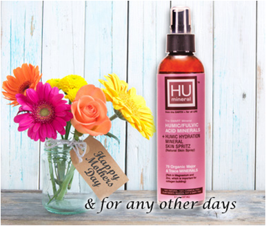 HUmineral humic hydration mineral face hair bidy skin spray may spring special